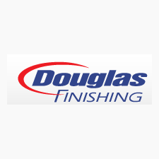 Douglas Finishing in Alexandria, MN. Clear, black, blue & gray anodizing, hardcoat anodizing, high & low phosphate electroless nickel plating, clear & yellow zinc plating & powder coating.