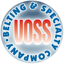 Voss Belting & Specialty Company in Lincolnwood, IL. TPU, PVC, rubber, PTFE & silicone conveyor belts, molded urethane timing & separator belts, dual durometer VF/F/S belts & neoprene & TPU timing belts, including cleats, guides, edge capping & perforating.