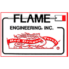 Flame Engineering, Inc./Red Dragon Torches in LaCrosse, KS. Handheld propane torch kits & tractor-mounted propane torches for weed control, aircraft engine preheaters, construction heaters, decorative open flame patio lights, agricultural row crop flamers, vegetable bed flamers & poultry sanitizers.