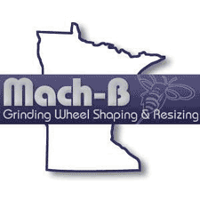 Mach-B Grinding Wheel Shaping & Resizing in Winona, MN. Abrasive grinding wheels, including shaping & resizing.