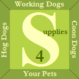 Supplies 4 Working Dogs in Keystone Heights, FL. Custom 100% nylon dog supplies for the law enforcement & hunting markets, including hog hunting supplies, hog hobbles, cut collars, tie out & hunting leashes & cut vests.