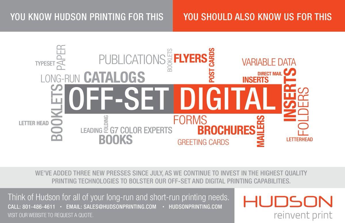 Hudson Printing Company - Salt Lake City, UT 84115 - Bookbinding ...